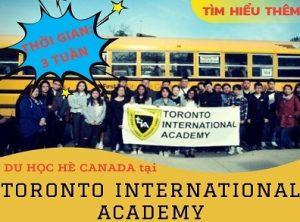 Trại hè ESL 2019 tại Trường Trung Học quốc tế Toronto (TIA) 10