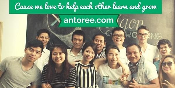 Các khóa học và học phí tại Anh ngữ Antoree 1
