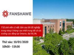 Hội thảo Du học Canada cùng Fanshawe College