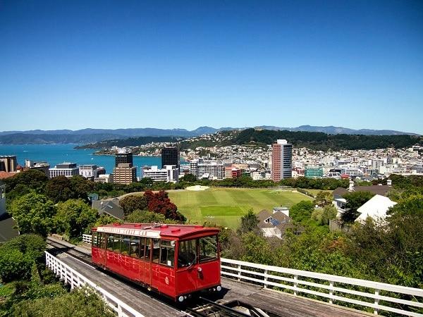 Thủ đô Wellington của New Zealand