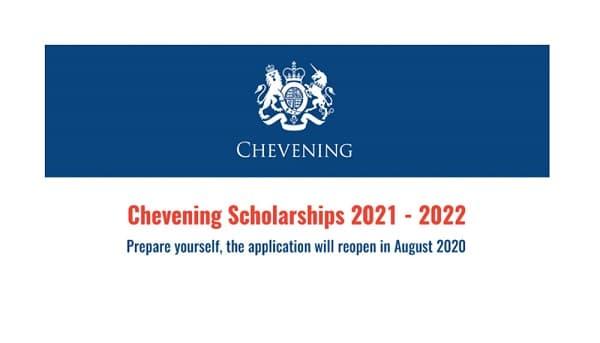 Học bổng Chevening năm học 2021-2022 tại Việt Nam bắt đầu nhận đơn ứng tuyển 1